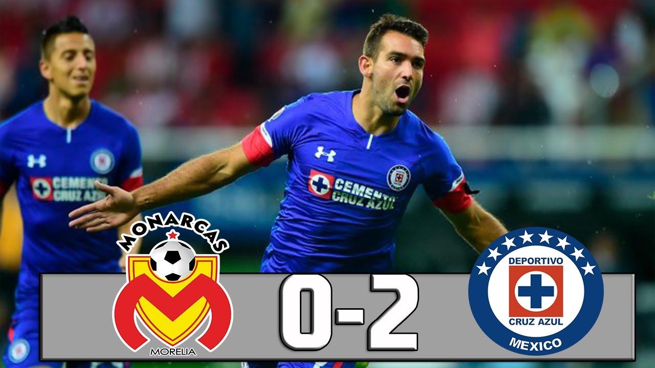 resumen-morelia-vs-cruz-azul-0-2-jornada-17-liga-mx-apertura-2018