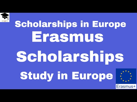 Erasmus Mundus Scholarships, Erasmus Scholarships, Study in Europe,