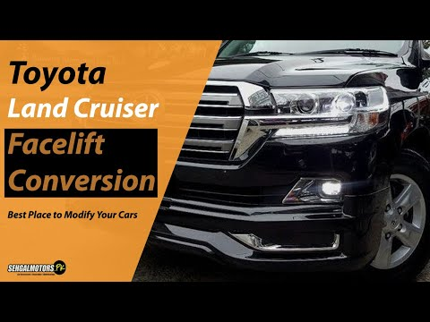 Toyota Land Cruiser Conversion Upgrade with Body Kit | Bullet Proof Cars Modifications in Pakistan