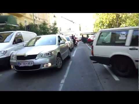 Radfahren in Wien - Horror in Hietzing