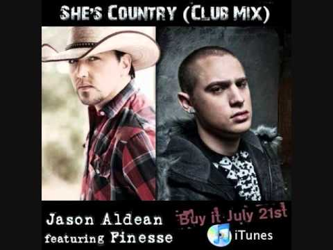 She's Country Club Mix (Jason Aldean Ft. Finesse) With Lyrics
