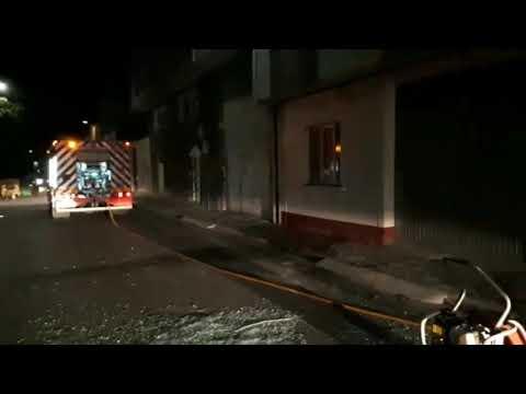 Detenido tras prender fuego a su domicilio en Rábade