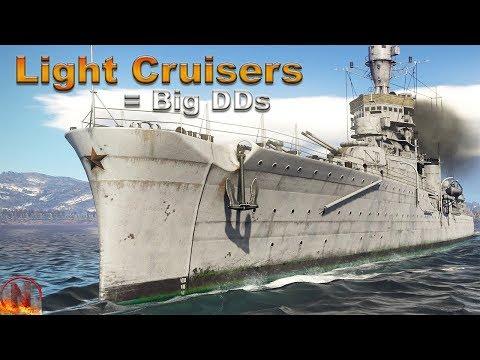 WT || Light Cruisers - The Community´s Desire
