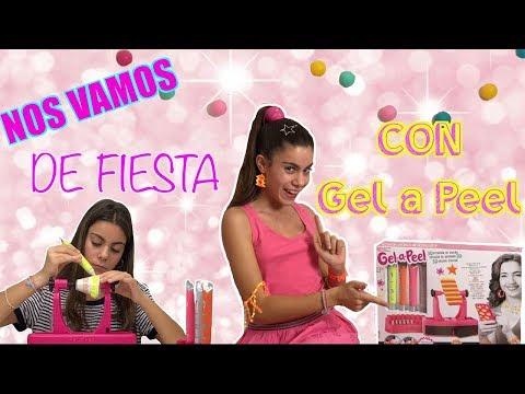 GEL-A PEEL 3D ESTACION DE DISEÑO💍ME FABRICO MIS ACCESORIOS Y ME VOY DE FIESTA/KIDS JEWELRY/MARTINA