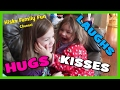 HUGS + KISSES + LAUGHS! (Little Girls Having Fun)