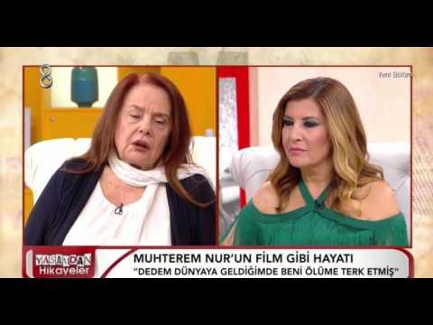 Muhterem Nurun Acı Hayat Hikayesi Youtube