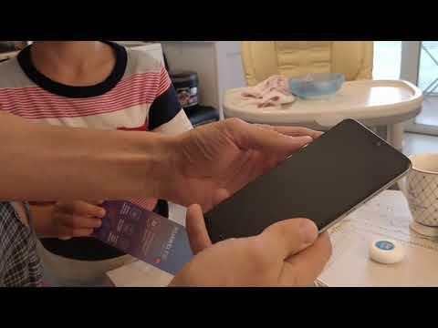 Huawei p20 распаковка:)) удивлен!