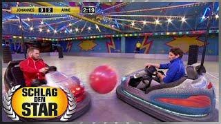 Spiel 5 - Autoscooter-Ball - Schlag den Star