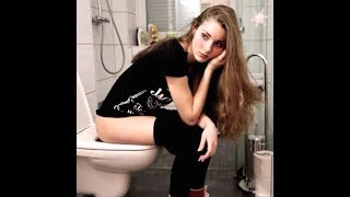 How sexy girl says she wants to use the toilet? - Watch and Laugh