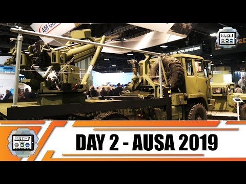 AUSA 2019 News Show Daily Association of United States Army Defense Exhibition Washington DC Day 2