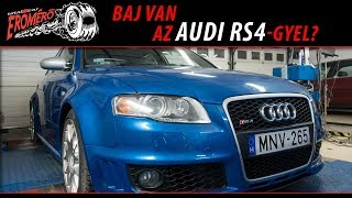 Totalcar Erőmérő: Baj van az Audi RS4-gyel?