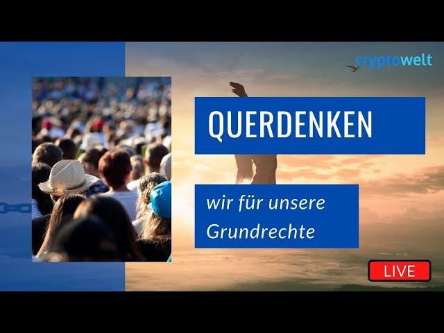 Livestream Querdenken 711 - Demos in Stuttgart und Berlin LIVE - Hygiene - Meditation - Spaziergang