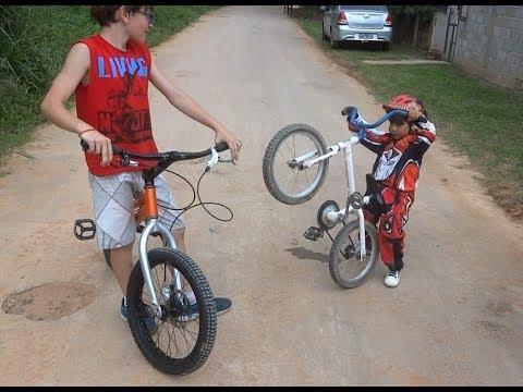 Trilha de Moto & Bike com Davi - Ganhou o Conjunto do Lucas Leite - Tebas MG