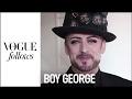 Being Boy George at Fashion Week: An hour at Dior Homme   #VogueFollows   VOGUE HOMMES