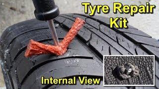 Tyre Puncture Repair Kit Tutorial