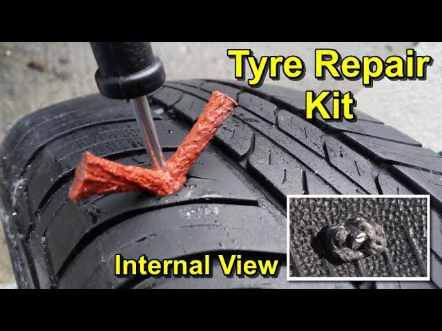 Thickened Kit Plug Tyre Repair Tire Puncture Recovery Car Tubeless Seal Strip