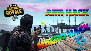 FORTNITE AIM BOT / FIRST SHOT ACCURACY LOGITECH MACRO HACK