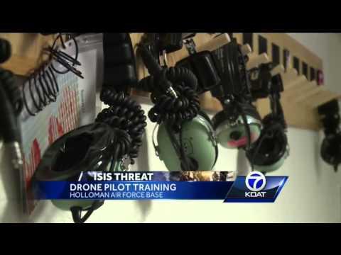 Drone pilots train at Holloman Air Force Base