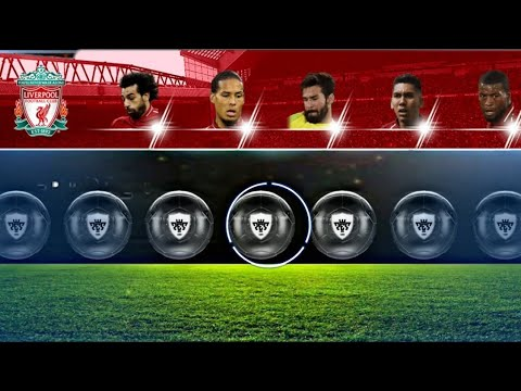 Ball Opening Del Liverpool 100% Bola Negra Pes 19 Mobile Android