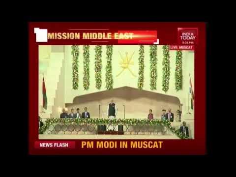 PM Modi In Oman   PM Speaks To Indian Diaspora In Muscat Stadium