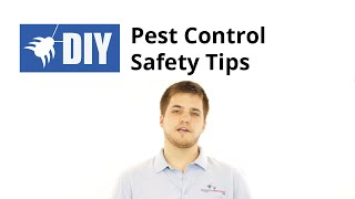 Pesticide Safety Tips - Pest Control Safety