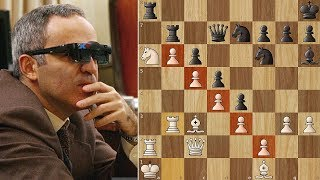 Garry Kasparov Strangles Fritz X3D - Man vs Machine 2003 - Game 3