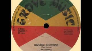 "Ras Ibuna & Jah Woosh - Diverse Doctrine (GROVE MUSIC) 12"""