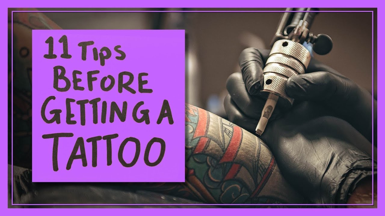 11 Tips Before You Get A Tattoo Youtube