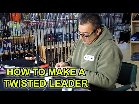 How to Tie a Twisty Leader for Popping