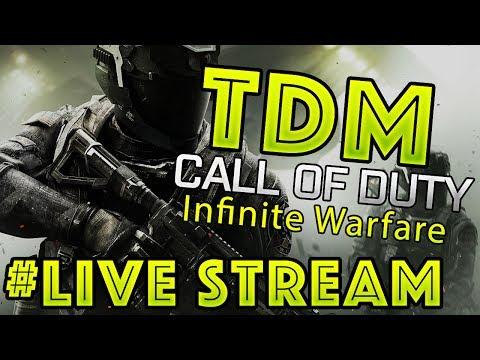 V12 Maz Live Stream - IW - TDM Let's  Show them what we got! Like & Sub