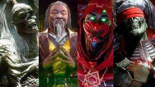 Mortal Kombat 11 - Ermac, Shang Tsung, Goro & Kenshi Cutscenes (MK11)