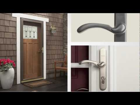 What Is The 45 Minute Rapid Install System For Andersen Storm Doors?