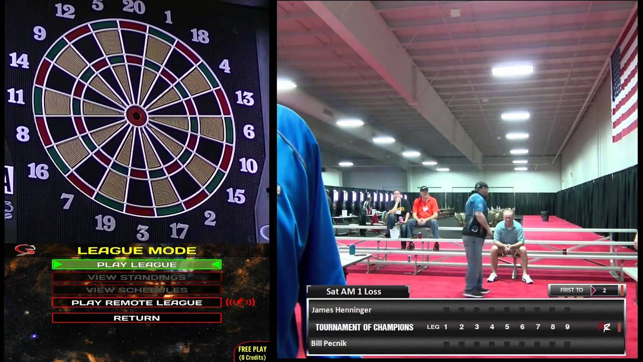 livestream darts