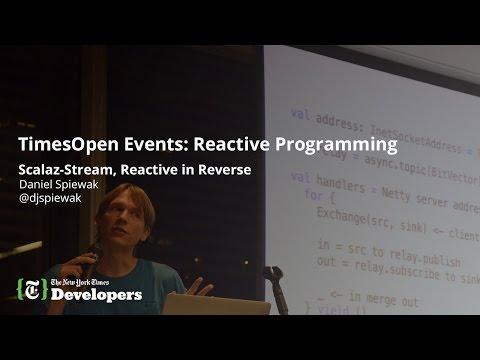 Daniel Spiewak on scalaz-streams (TimesOpen: Reactive Programming)