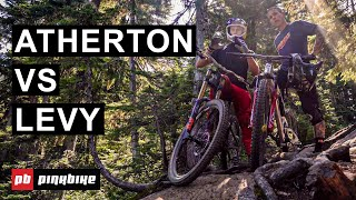 HUMBLED: Gee Atherton vs Mike Levy on Whistler's Steep Tech