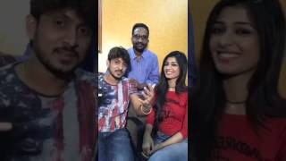 Ajai Rao and Adithi Prabhudeva Talk on Dhairyam Movie