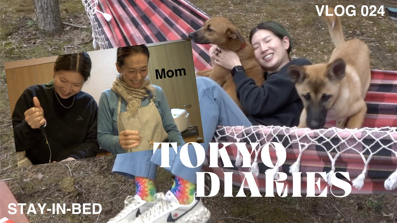 """VLOG 024 """"RELAXING WEEKEND - Visiting My Mom"""""""