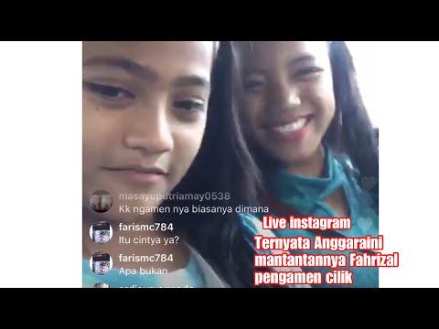 Live Pengamen Manda Instagram | Keceplosan Ternyata Anggaraini Mantan Nya Fahrizal