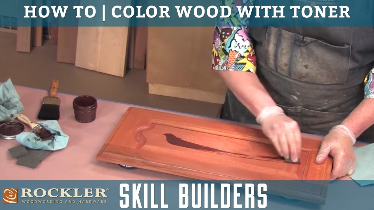 How To Color Wood With Toner And Glaze Finishes | Rockler Skill Builders