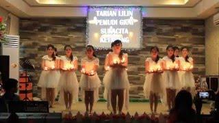 Tarian Lilin Pemudai Remaja GKNI Sukacita Ketapang Part 1