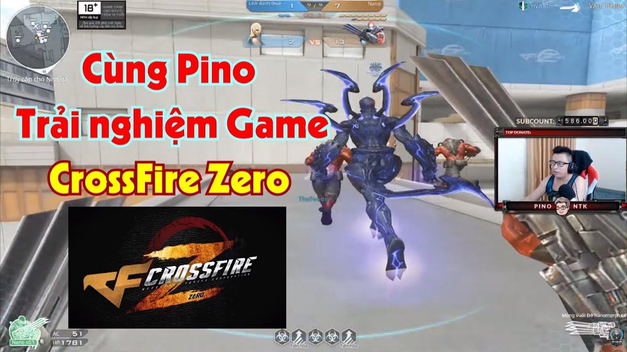 cùng Pino test Game mới ra mắt CrossFire Zero (CF Zero) !!!