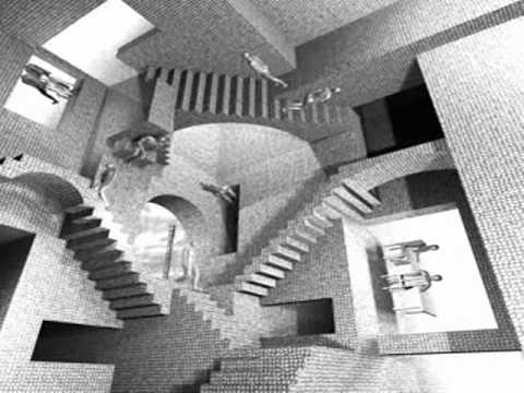 M C Escher Quot Relativity Quot Stairs Youtube
