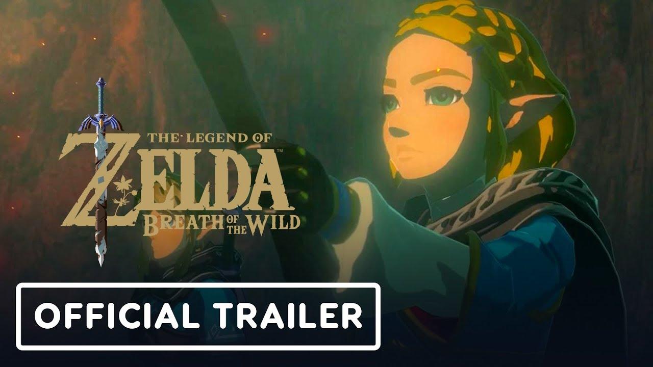 Die Legende von Zelda: Atem der wilden Fortsetzung Offizieller Ankündigungstrailer - E3 2019 + video