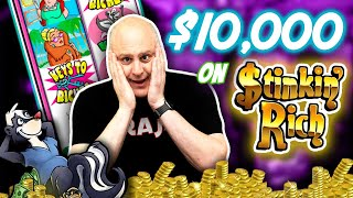 💰 What Can I Hit with $10,000 on Stinkin' Rich Slots? 💸 $100 SPINS!