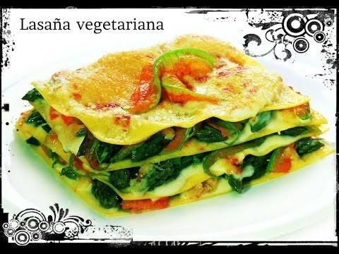 Recetas de cocina receta lasa a vegetariana youtube - Cocimax recetas ...