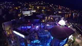 HALİKARNAS Disco The Night Club Bodrum Turkey Türkiye Aerial Hd Video Shooting Shots - ıdea fly 4s