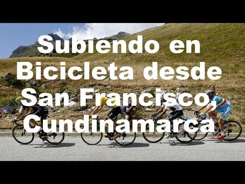 Subiendo desde San Francisco en Bicicleta