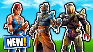 NOUVEAU FORTNITE LEAKED SKINS! FORTNITE SECRET CHUTES DE NEIGE PEAU FUITE! PATCH V7.30 LEAKED COSMETICS