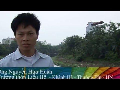 Ô nhiễm nguồn nước sông Nhuệ