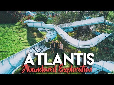 ABANDONED WATER PARK IN MEXICO CITY (ATLANTIS) w/ EXPLORING WITH JOSH & CODY